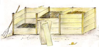 КАКО НАПРАВИТИ ВЛАСТИТИ ОРГАНИСКИ ВРТ Kompost8a